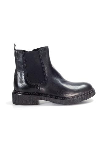 Shu Talk black LeccaLecca Chelsea Boots 8394ESH17B3887GS_1