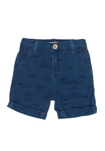FOX Kids & Baby blue Baby Boy Shorts 7C14BKAAD79AB9GS_1