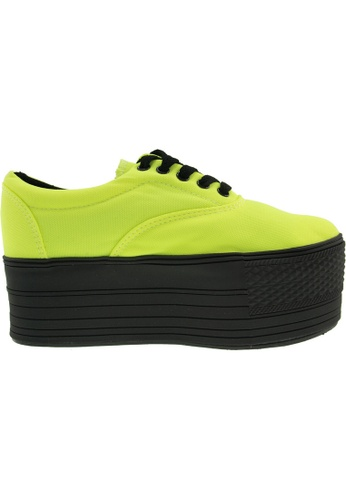 Maxstar green Maxstar Women's C60 5 Holes Platform Canvas Low Top Sneakers US Women Size MA164SH18PPTSG_1