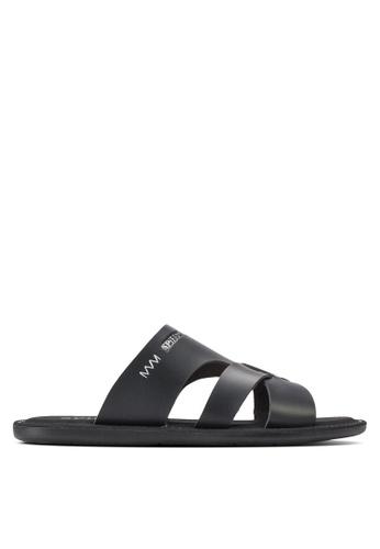 Spiffy black Stylish Sandals SP352SH62IOZMY_1