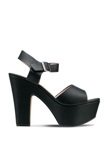 nose black Platform Heels 81014SH40AEE25GS_1