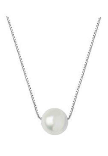 Shinju Pearls white SHINJU PEARLS-Fresh Water Pearl Single In 925 Silver Chain-White 788A2AC1247D1CGS_1