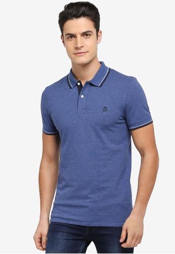 Selected Homme blue New Season Polo Shirt 4DA80AA15EE6B7GS_1