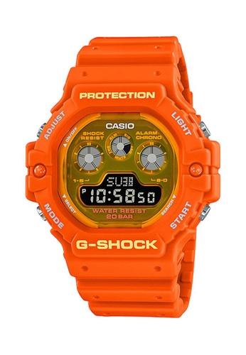 G-shock orange CASIO G-SHOCK DW-5900TS-4 08301AC7C98646GS_1