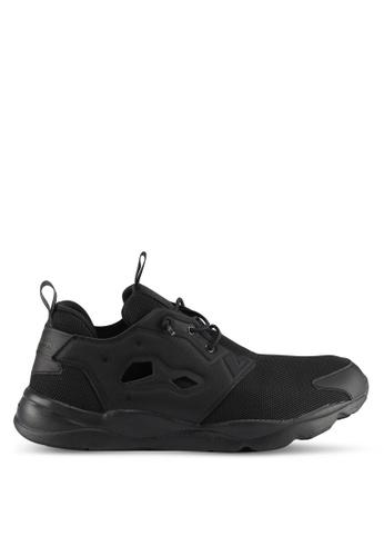 Reebok black Furylite Open Mesh Shoes RE691SH0SW2MMY_1