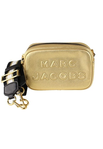 MARC JACOBS gold Marc Jacobs The Flash Metallic Leather Crossbody Bag M0015058 Gold CCDD8AC6834BFEGS_1