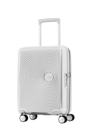 American Tourister white American Tourister Curio Spinner 55/20 TSA AM536AC70ZXXSG_1