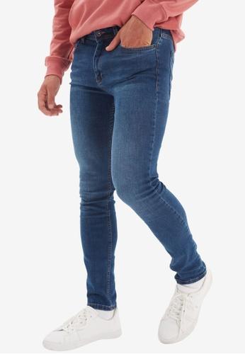 Trendyol blue Blue Skinny Jeans D123CAAA1A74AFGS_1