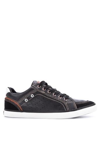H2Ocean black Cato Sneakers H2527SH0IWETPH_1