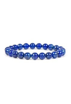 Simple Detailed Lapis Bracelet