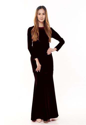 Rina Nichie Basic black Rina Kurung in Black 3C2EEAA40615CEGS_1