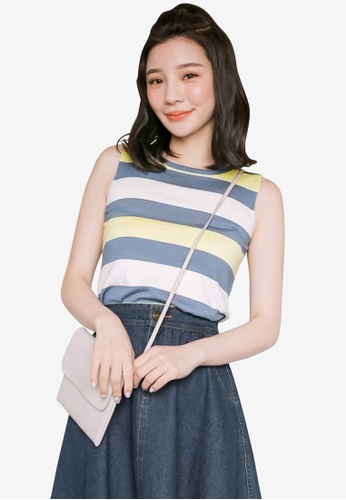 Tokichoi blue Striped Tank Top 7805AAA93F683BGS_1