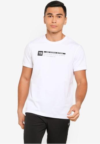 361° white Cross Training Short Sleeve T-Shirt 1064CAA0F4E853GS_1