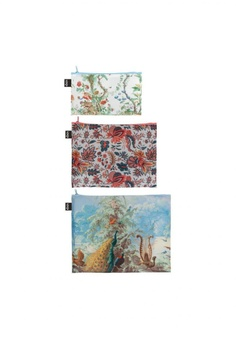 4b3be2181b78 LOQI Loqi Museum Zip Pockets - Mad - Chinese, Indian, Brazil S$ 20.90.  Sizes One Size