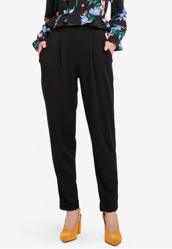 Miss Selfridge black Jersey Joggers 708A7AA47ABCD3GS_1