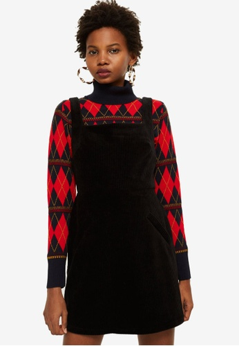 available save up to 80% reputable site Corduroy Open Back Pinafore Dress