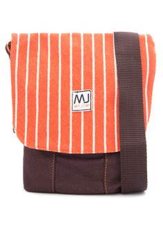 Sling Canvas Bag With Color Combi