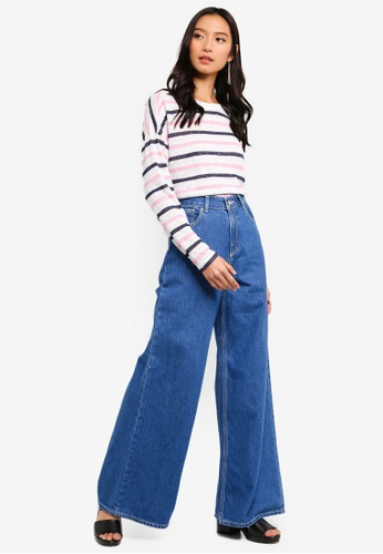 8b18abd9ddce7 Shop ONLY Dina Long Sleeve Bow Top Online on ZALORA Philippines