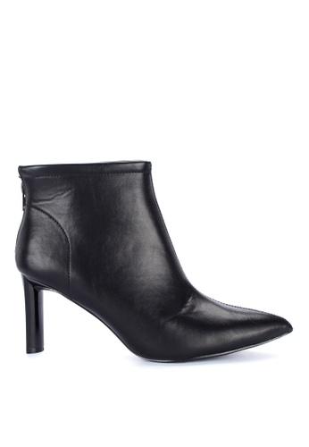 S&H black Aurelia Heeled Boots F2FF0SHB1DF934GS_1