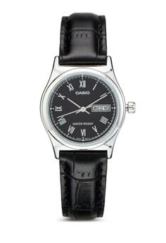 LTP-V006L-1BUDF 皮革小圓錶