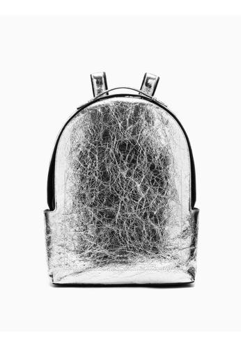 111012fa59a Buy Calvin Klein Metallic Campus Backpack Online on ZALORA Singapore