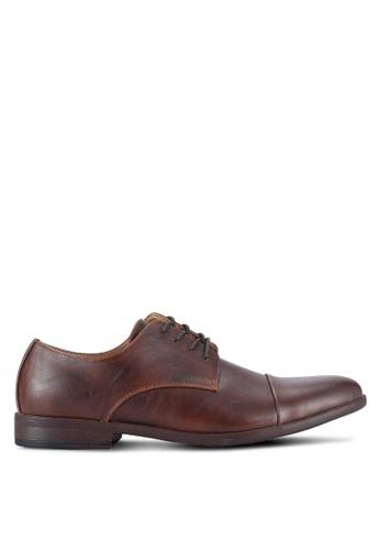 Call It Spring brown Huttner Derby Shoes CA512SH0RLHGMY_1