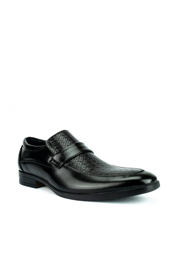Cardam's Lifestyle black Sawyer Formal Shoes BB873SH4043175GS_1