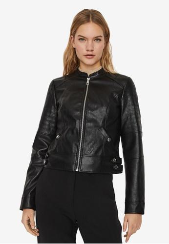 Vero Moda black Love Short Coated Jacket 055B3AA016C82AGS_1