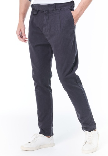 Sisley grey Relaxed Fit Pants 3EA83AACE074C4GS_1