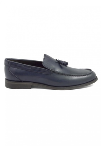 Tomaz navy Tomaz F098 Tassel Loafers (Navy) TO717SH48AEDMY_1
