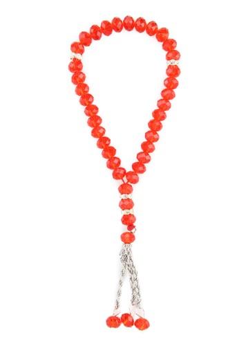 SHALIMAR red Shalimar Beads Crystal Premium 33 Tasbih SH713AA79CMIID_1