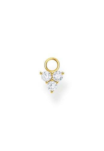 THOMAS SABO gold Ear Pendant White Stone (Single) Gold D1BB3ACC93E6BFGS_1