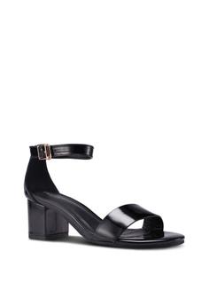 f02c2cced013 prettyFIT Mid Heel Patent Block Heels S  63.90. Sizes 38
