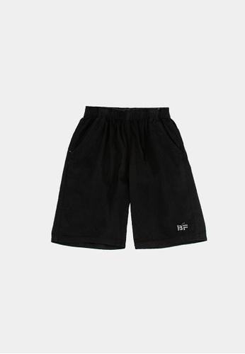 FOREST black Forest 100% Cotton Twill Casual Shorts Pants Men - Seluar Pendek Lelaki - 665051 -01Black 16F6EAAB166D77GS_1