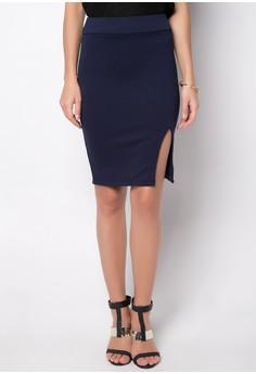 Elvinia Front Slit Skirt