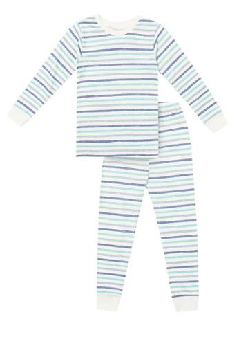 cocohanee blue Cocohanee Blue Stripe Pajamas C4DDBKAEA508CEGS_1