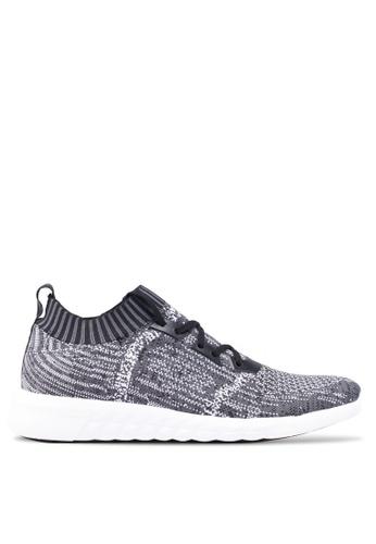 ALDO black Knitted Sneakers FC616SH2A1B96FGS_1