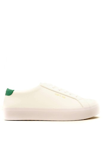 Coup d' etat white CDE Ceremonial Men Sneaker White/Green CO929SH56QQLID_1