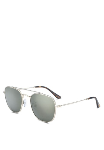 Privé Revaux 綠色 The Yorker Sunglasses CEE04GLDF1FEC4GS_1