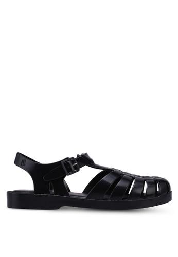 Melissa 黑色 Melissa Possession Ad Sandals DE7CESH4A4AA1BGS_1