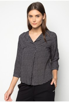 Marcella V-Neck Blouse