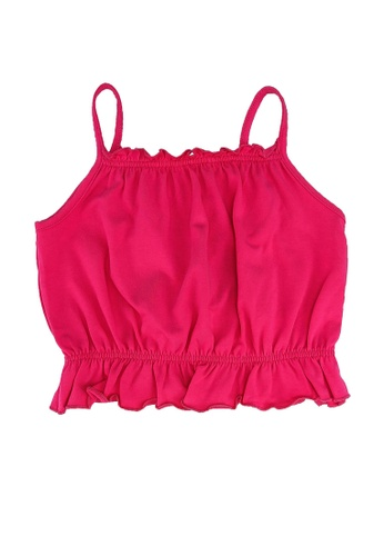 ONLY pink and purple Henna Life Sleeveless Top D4CF8KA93E9BECGS_1