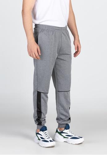 Ninety Nine Point Nine Boutiq grey Classic Jogger Pants 98C8DAA0F51562GS_1