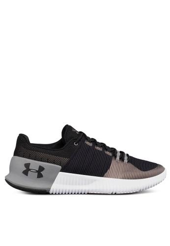 Under Armour black UA Ultimate Speed Shoes UN337SH0SU9HMY_1