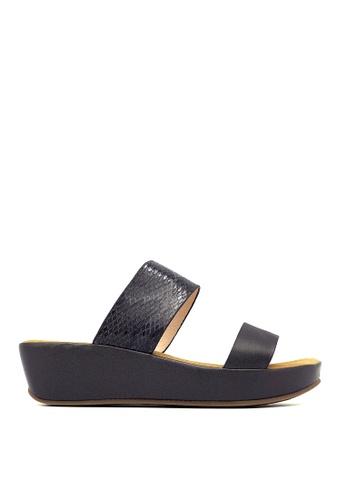 Carlo Rino black Carlo Rino 33370-A005-08 Silde Flat Sandals (Black) 42276SH7413FE2GS_1