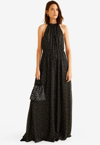 Mango black Halter Gown 442CCAA415CDA1GS_1