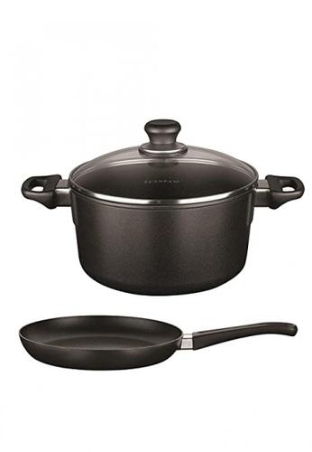 Scanpan black 60th Anniversary Cookware Set 04CB3HLF645EB2GS_1