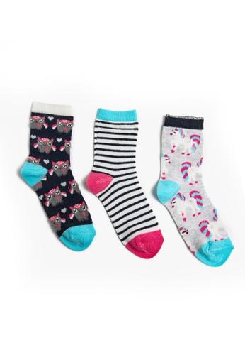 KOTON grey Multipack Socks 1E4F6KABBF75B7GS_1