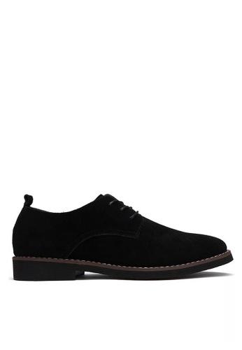 Twenty Eight Shoes black Suede Oxford MC8801 44841SH88A5998GS_1