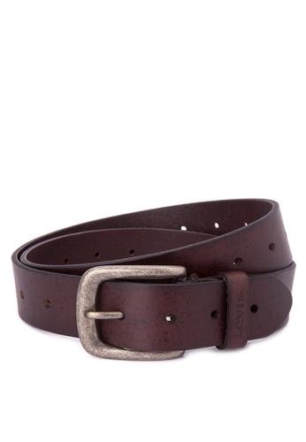 Levi's brown Cartago Belt LE892AC0J6ZUPH_1
